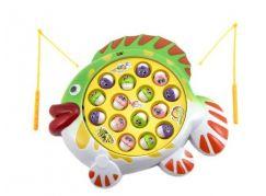 Teddies Hra ryby nebo rybář společenská hra na baterie
