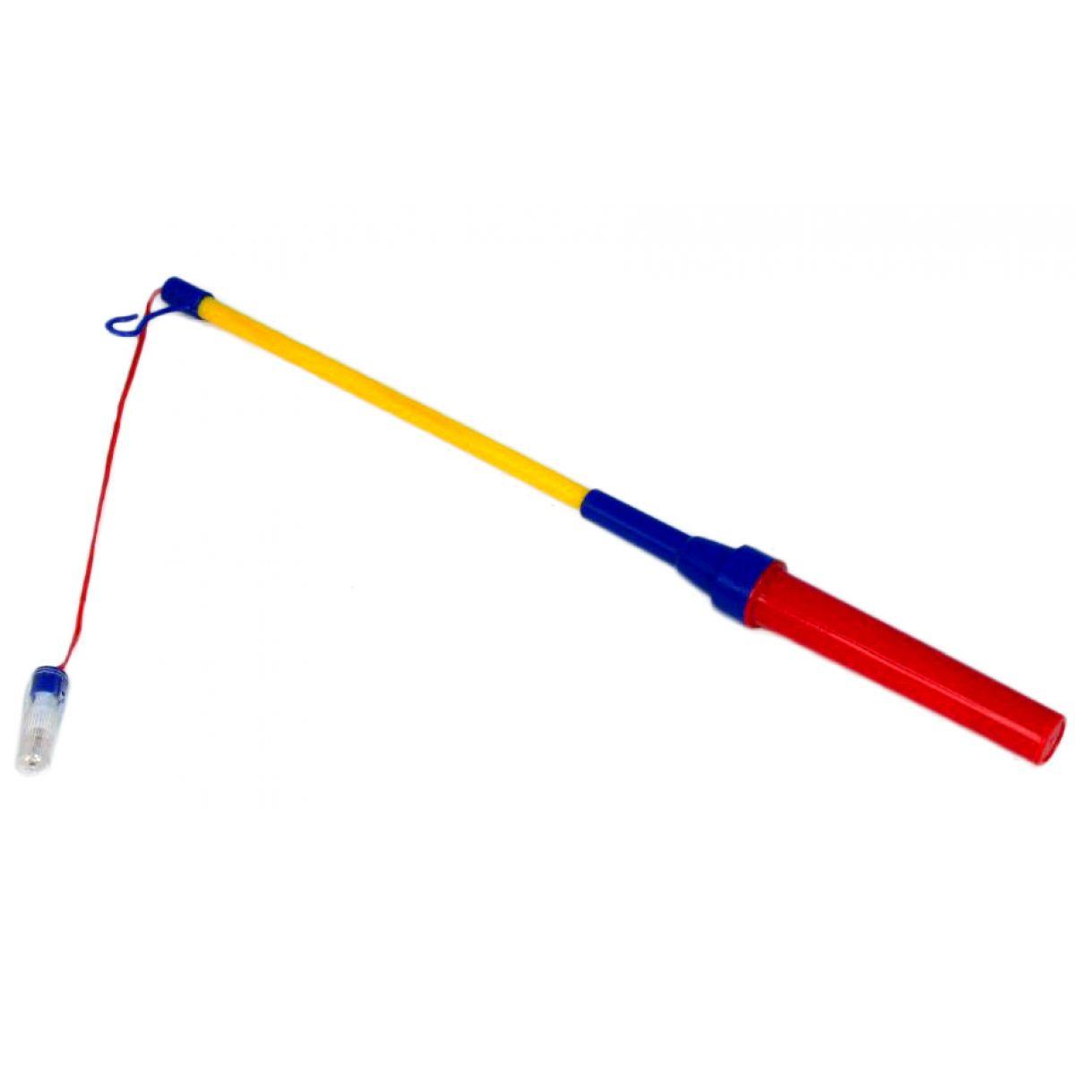 Teddies Hůlka na lampion vysunovací se světlem - 75cm