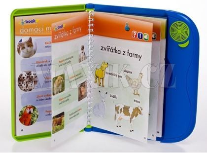 Teddies I-book naučná elektronická kniha - Zvířátka