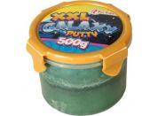 Teddies Inteligentní slizová hmota galaxie 500g tmavě zelená