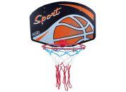 Teddies Koš na basketbal 60x42cm Sport - míč