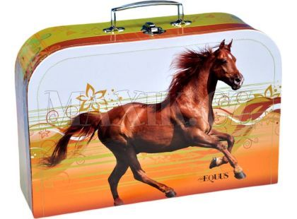 Teddies Kufřík šitý Kůň 35 cm