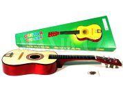 Teddies Kytara dřevěná - 60cm