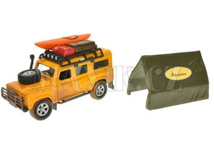 Teddies Land Rover Defender se stanem