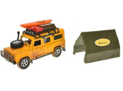 Teddies Land Rover Defender se stanem