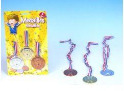 Teddies Medaile 3 ks