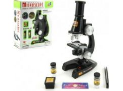 Teddies Mikroskop s doplňky na baterie 21cm