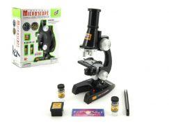 Teddies Mikroskop s doplňky plastový 21 cm