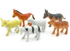 Teddies Mláďata domácích zvířat z farmy 6 ks
