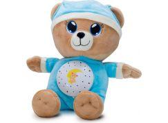 Teddies Modrý Medvídek Usínáček 33 cm