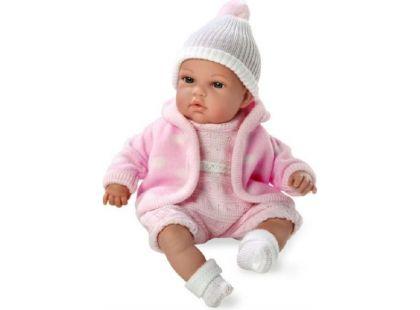Teddies Panenka miminko plačící vonící 33cm