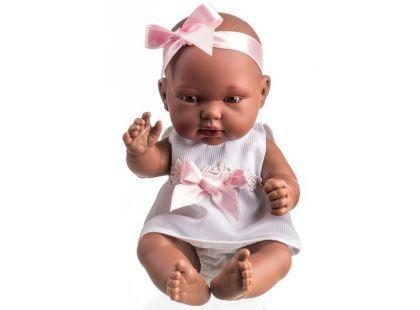 Teddies Panenka miminko vonící 26cm - Černoška