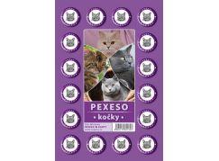 Teddies Pexeso Kočky 64 ks