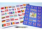 Teddies Pexeso Vlajky evropských států 64 ks 2