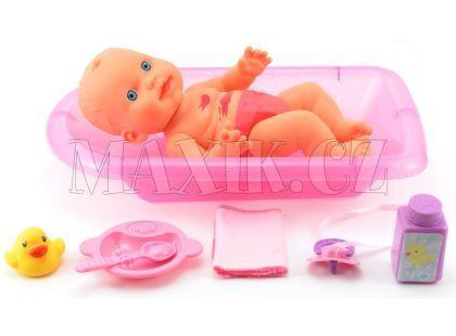 Teddies Špinavá panenka s doplňky