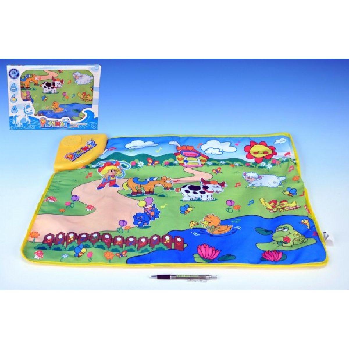 Teddies Piánko koberec - Zvířátka na farmě