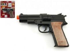 Teddies Pistole na kapsle 8 ran kov 14 cm