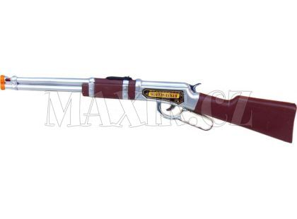Teddies Pistole Puška 62cm na baterie se zvukem