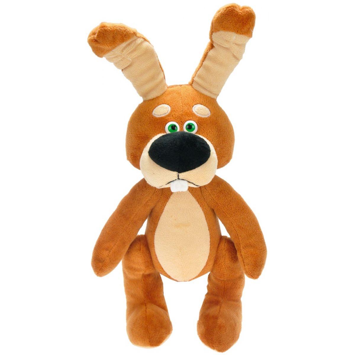 Teddies Plyšový králík mluvící česky - Mrkvous 35cm