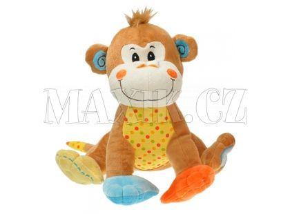 Teddies Plyšové zvířátko sedící 28cm - Opice
