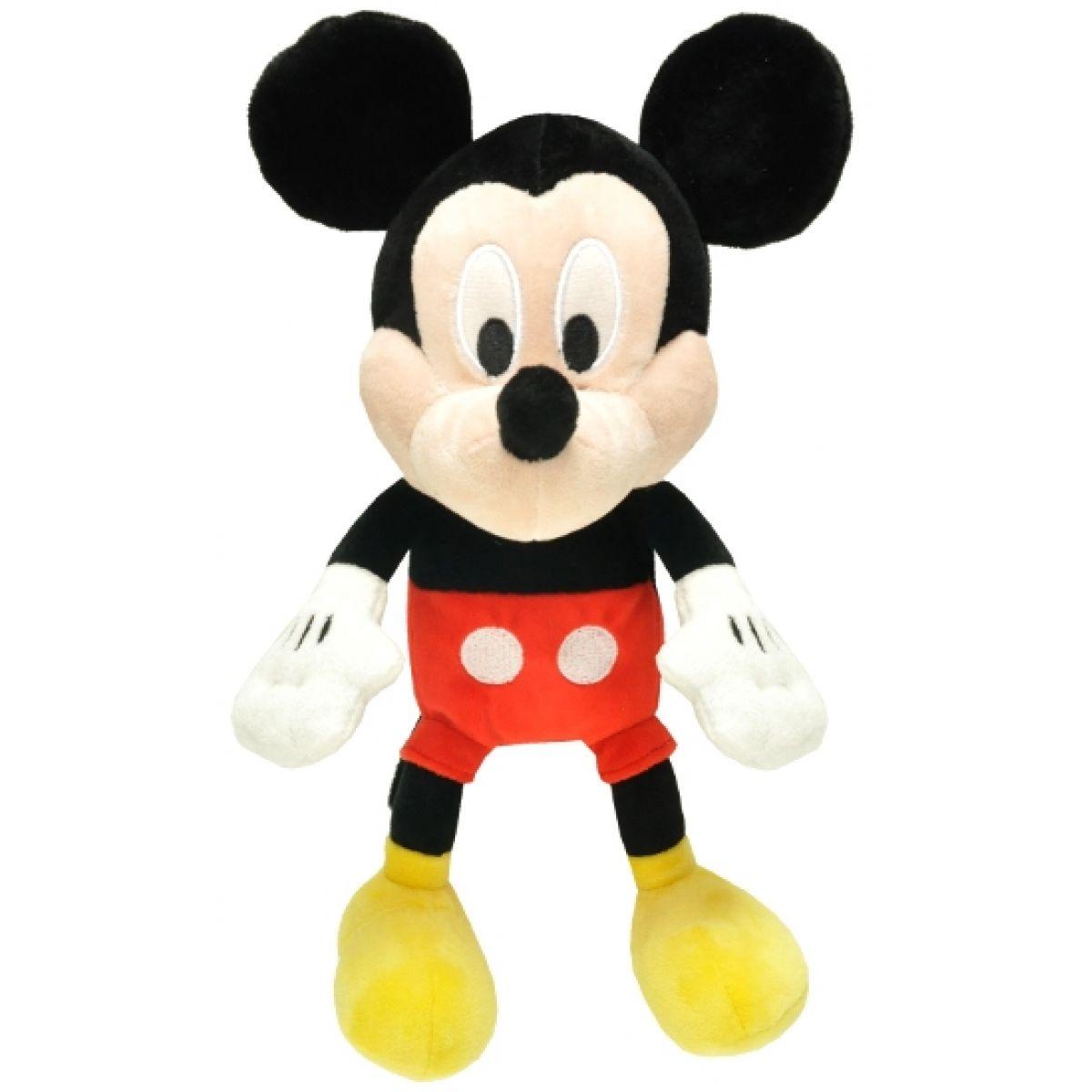 Teddies Plyšová postavička se zvukem - Mickey Mouse 30cm