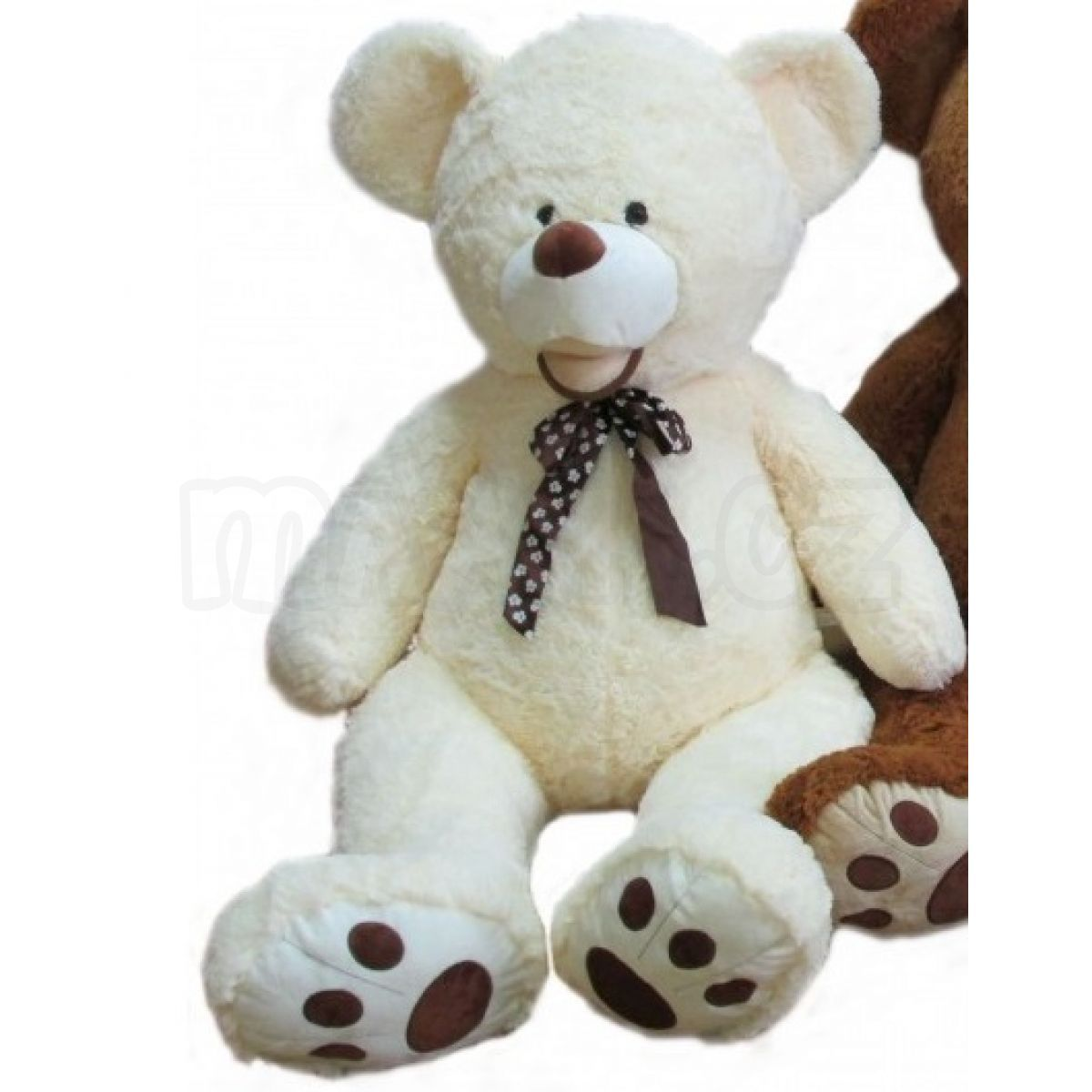 002231118 Teddies Plyšový medvěd 80cm   Maxíkovy hračky