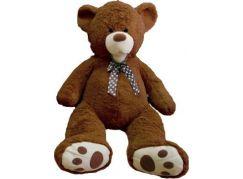 Teddies Plyšový medvěd hnědý 80cm