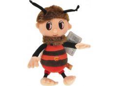 Teddies Plyšový zpívající včelí medvídek - Brumda 26cm