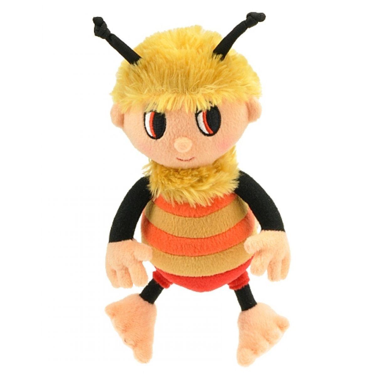 Teddies Plyšový zpívající včelí medvídek - Čmelda 26cm