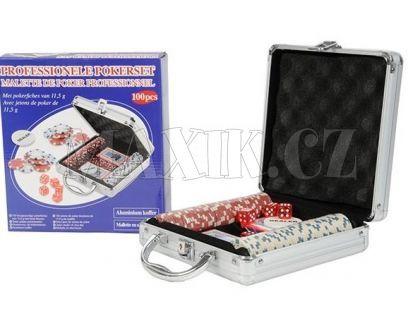 Teddies Poker v hliníkovém kufříku