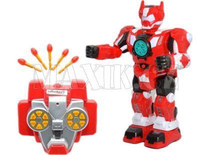 Teddies RC Robot 33 cm - Červená
