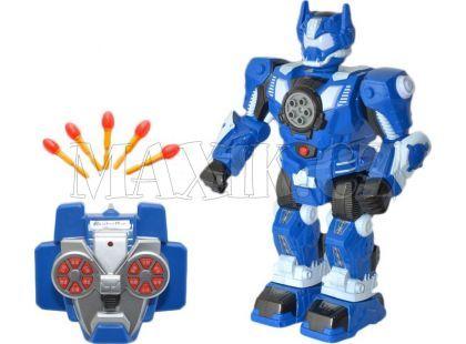 Teddies RC Robot 33 cm - Modrá