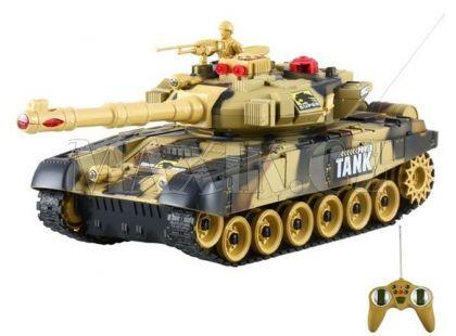 Teddies RC Tank - Béžový 40MHz