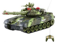 Teddies RC Tank - Zelený 27MHz