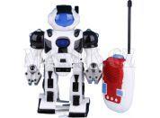 Teddies Robot na dálkové ovládání se světlem a zvukem - Černý