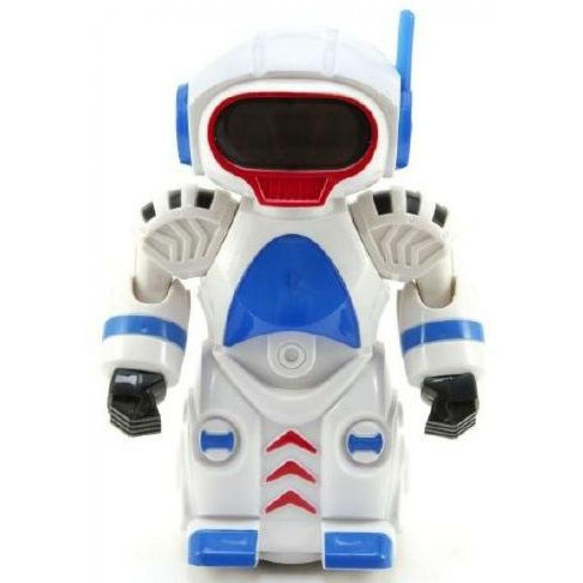 Teddies Robot narážecí 20 cm na baterie