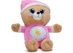Teddies Růžový Medvídek Usínáček