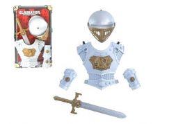 Teddies Rytířská sada s mečem, štítem a přilbou