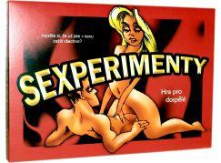 Teddies Sexperimenty společenská hra pro dospělé