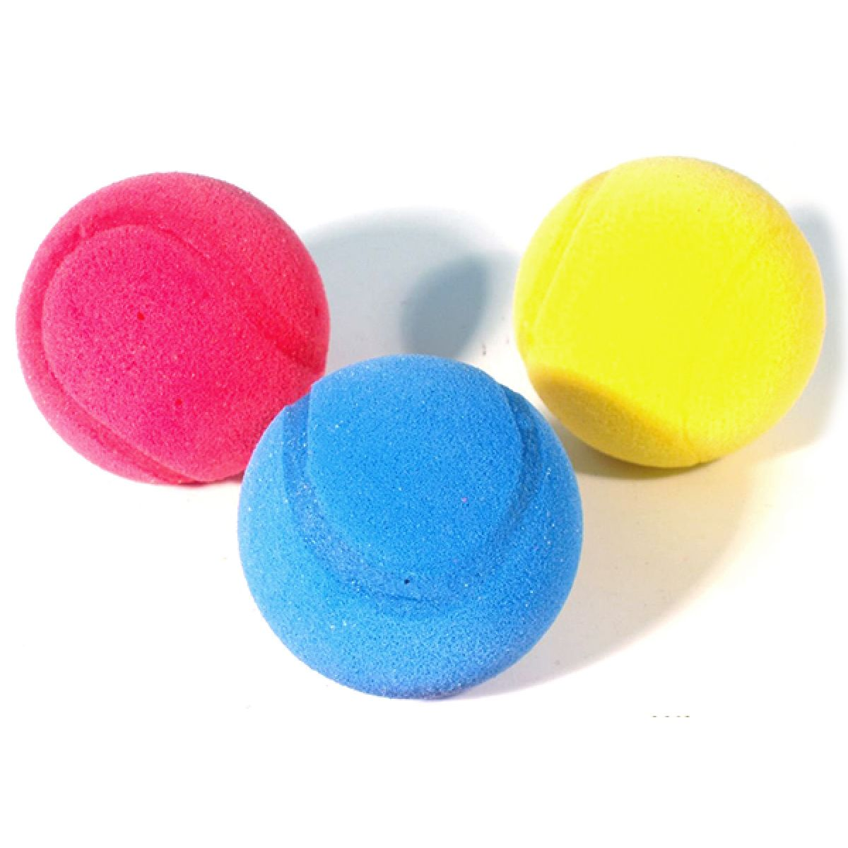 Teddies Softové míčky - 3ks Mondo