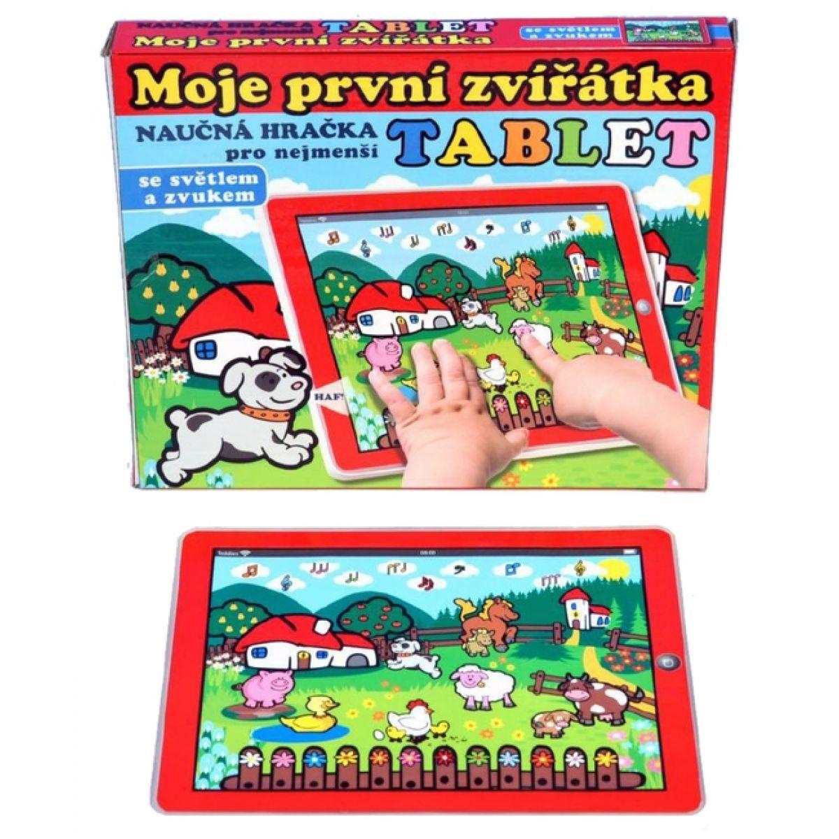 Teddies Tablet - Moje první zvířátka