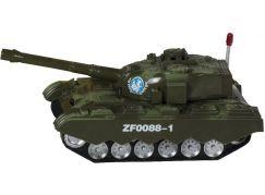 Teddies Tank narážecí 25 cm se zvukem a světlem