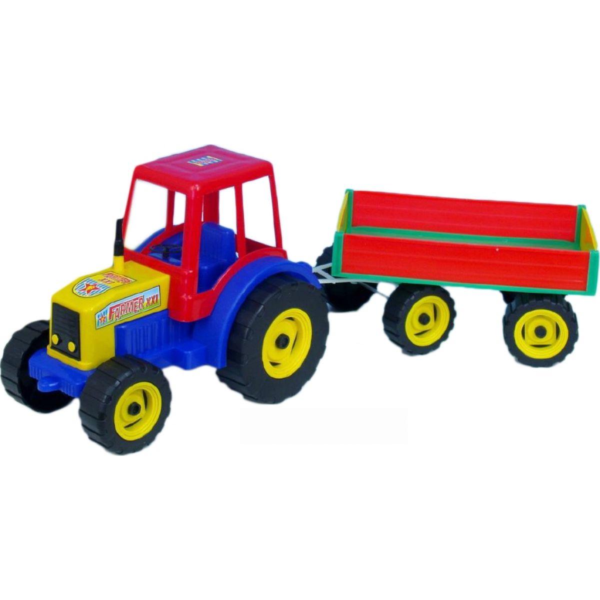 Teddies Traktor Farmer xxl s vlekem