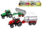 Teddies Traktor s vlečkou, se zvukem a světlem