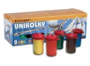 Teddies Unikolky - 9 barev s lakem