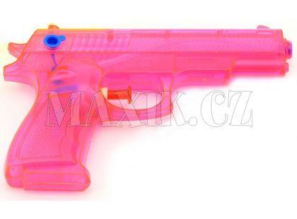Teddies Vodní pistole 17cm - Růžová