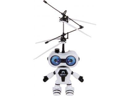 Teddies Vrtulník vesmírný letec 15cm se senzorem - Černá