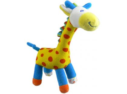 Teddies Žirafa barevná plyš 23cm