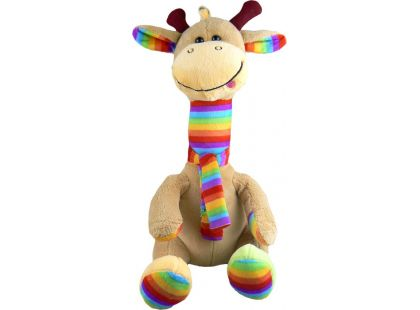 Teddies Žirafa se šálou plyš 40cm