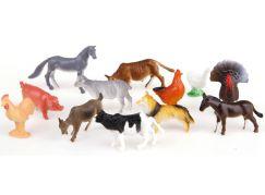 Teddies Zvířátka - Farma veselá 12 ks